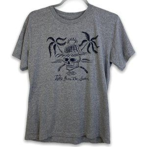 Rip Curl Gray Tales From The Search Graphic Tee, L